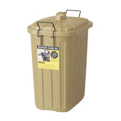 衝撃に強い!ミリタリー風大容量ペール缶(60L)