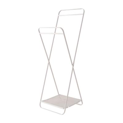 高さ調節ができる折りたたみハンガーラック/WH